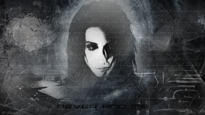 Never And Me - wallpaper by Ikuinen