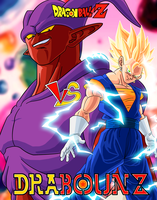 Janemba vs Vegeto by DrabounZ