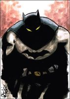 Batman ACEO 080612 by ChrisMcJunkin
