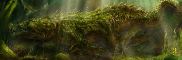 Ancient Croko by Dismay666
