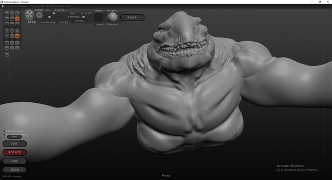 Shark Mutant (Front) by BaneNascent