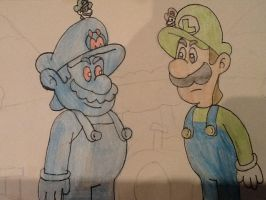 The giant plumbers by Iwatchcartoons715