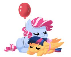 The Balloon and the Ribbon by kilala97