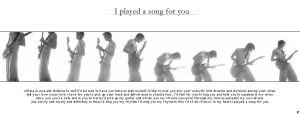 I played a song for you by tinkles