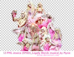 12 PNGs Jessica_Legally Blonde musical by Mynie by bttmy