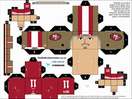 Alex Smith 49ers Cubee by etchings13