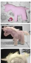 unicorn plushies by red3erry