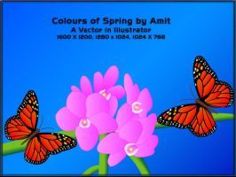 Colours of Spring by amitsaraf32