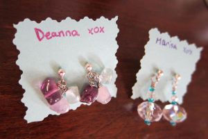 Deanna Earrings by madewithloveL