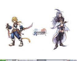 Hand-Made Dissidia Desktop by thezidane