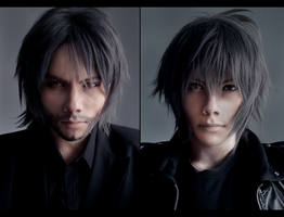 FFXV: Noctis - Then and Now by Akitozz6