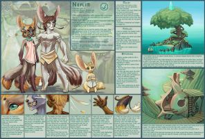 Species: Neflim Ref by XiroMyth