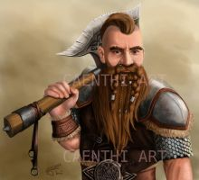 Dwarf commision by thielusia