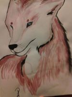 My Wolf Painting~ by OikikiO