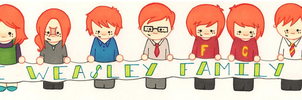 The Weasleys by RedonkulousEmmy