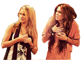 Miley y Emily png by VaAzZquuezZ