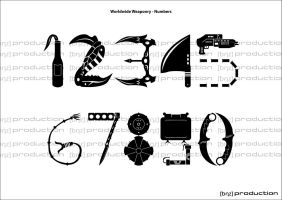 Worldwide Weaponry - Numbers by 1301232