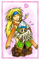 Temptation of St. Baralai by nachtwulf