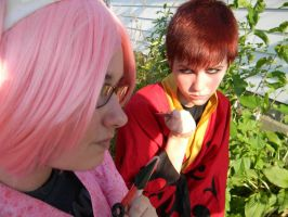 pouting what is this pouting? by okamixcosplayer