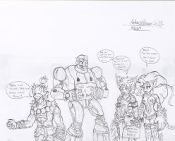 UMVC3 The characters who lost their teams forever by Hotfeet444