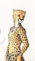 Character concept #5 [Tribal Cheetah] by TitusW
