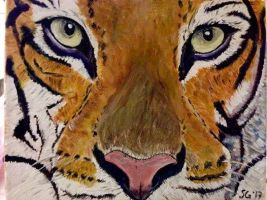 The Tiger by goshilpa