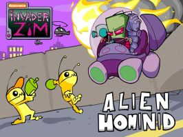 Hominid meets Zim 3 by TalesofZ