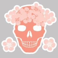 Skulls and Sakura Brush Pack by matildarose