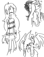 Marcy Doodles by CharcoalShadows