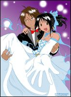 Rinoa and Squall-Prom by Wom-bat