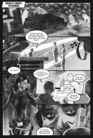 HVZ page 1 black and white tone version by LoneFoxAndCub