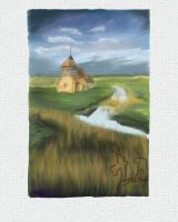 House in Wetlands by Danny-art
