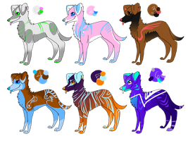 Canine Adopts (5-15 points) by Saejay
