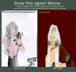 Draw this again! meme: Oc Zyrus by mr0spot