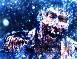 Dark ice zombie by RushLightInvader