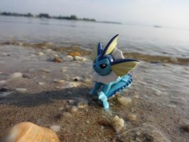 Vaporeon by Blue-and-Dog