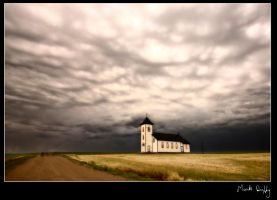 Church and the Storm 2 by pictureguy