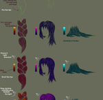 Hair Braids, Coloring and Shading Tutorial by MamaELM