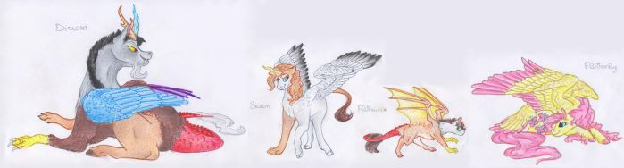Family - Fluttercord by Dawn22Eagle