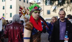 Cosplayers in Lucca 2012 07 by st2wok