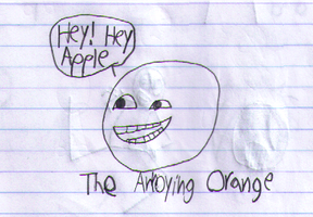 Annoying Orange Sketch by nicksnack
