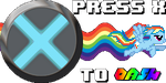 Press X to Dash Icon by Creshosk