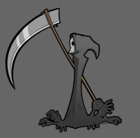 The Reaper - Colored by grimcinder