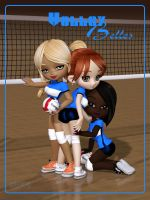 VolleyBelles by Ptrope