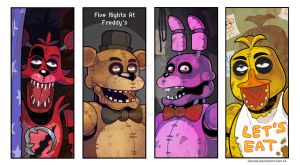 Five nights at Freddy's by Garvals