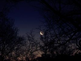 A Whole Crescent Moon 2 by JeremyC-Photography