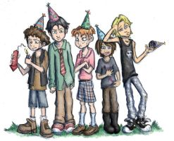 HAPPY DETHDAY TO ME by Deeper-Blue