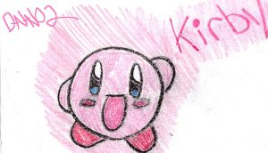 Kirby in Crayon by Death-Note-Ninja02