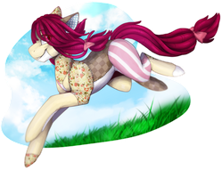 [Gift] First day of summer by silent-umbra