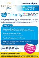 Triathlon Thank You Mailing by CesarHuerta